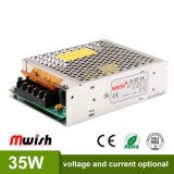 Neue Stromversorgung des Entwurfs-35W 24V1.5A Switiching mit Cer RoHS
