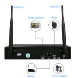 Kit del sistema 4CH NVR della macchina fotografica di P2p WiFi per obbligazione domestica del negozio