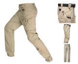 Pantalones tácticos militares del cargo de Tan que entrenan a los pantalones al aire libre IX7 del combate