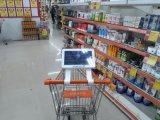 visualización del vídeo del panel de 10.1-Inch LCD que hace publicidad del jugador, señalización de Digitaces