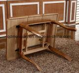 高品質(M-X3149)の机を食事する折る純木