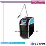 Q-Schalter Nd: YAG Laser-Tätowierung-Abbau-Haut-Verjüngungs-Maschine mit Cer-Zustimmung