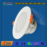 Aluminium 18W SMD LED Downlight pour restaurants