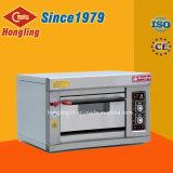 Ventas calientes 2017 de Hongling 1 horno de gas de la bandeja de la cubierta 1 para la panadería