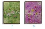 Abstrakte Segeltuch-Farbanstrich-Wand-Kunst-Abbildung mit Feld für Wohnzimmer, Hotel, Gaststätte Dekoration