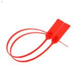 Sello plástico, sello de la seguridad para los rectángulos, bolsos