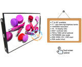 Geöffneter Spant 17 Zoll LCD-Monitor mit SDI, Handels, BNC, RCA-Input fertigen kundenspezifisch an (MW-172MEH)