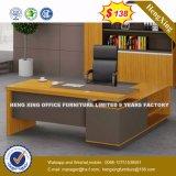 단순한 설계 사무실 책상 금속 다리 사무실 테이블 (HX-8N0734)