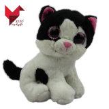 Grands jouets de chat de yeux de peluche bourrés par vente en gros