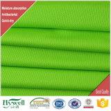 Tessuto dell'umidità ed antibatterico della gestione della camicia di maglia