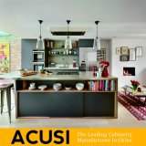 Gabinetes de cozinha modernos da laca da venda quente de Austrália (ACS2-L09)