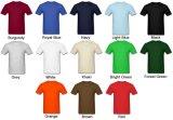 Fornecer o serviço OEM OEM unissexo Tshirts Logotipo personalizado