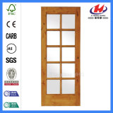 Самомоднейшее самое лучшее нутряное крытое стекло сползая французскую дверь (JHK-G22)