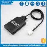 Rádio no carro sem fio adaptador Aux Carregador para automóvel USB Transmissor Receptor MP3 com cartão SD