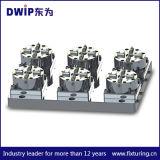 급속한 두는 지그 시스템을%s 1개의 CNC 압축 공기를 넣은 물림쇠 D100에 대하여 6