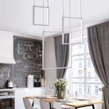 Lámpara rectangular de múltiples capas de la lámpara del LED para la sala de estar