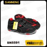 Chaussures de santal de sécurité du travail avec la semelle de PU/Rubber (SN5591)