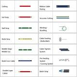 Multifuctional провод кабеля резки и зачистки Tinning механизма