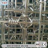 Heißer eingetauchter galvanisierter örtlich festgelegter Knoten-und Scharnier-Verbindungs-Zaun
