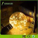 Lampadina indicatore luminoso decorativo dell'interno/esterno di 10FT/3m del globo G30 del LED della stringa per il corridoio del Gazebo