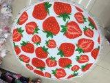 De Aardbei van het fruit om de Handdoek van het Strand/de Reeks van de Handdoek