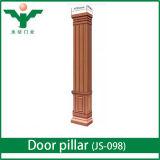 Pilier de luxe de porte en bois solide d'Euopean