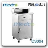 Mobiliário para medicina armário de leito hospitalar de Aço Inoxidável Tabela
