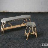 1/10 de tapete modular Chun da telha do tapete da HOME do hotel do escritório do calibre com revestimento protetor do PVC