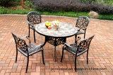 PC 5 elegante que janta a mobília dos jogos (tabela com telhas) para o jardim