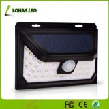 2018 39 Solar Powered LED impermeable inalámbrica Sensor de movimiento de la luz solar