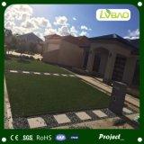 erba artificiale d'abbellimento naturale poco costosa di 10-70mm per la decorazione del giardino