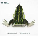 Het kunstmatige Lokmiddel van de Visserij van de Kikker van het Aas PR-Fgoa55 17g Zachte