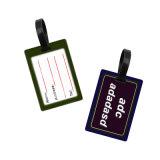 Custom 3D'ID de plastique en caoutchouc souple de la carte de données Tagcustoms avion Sac de bagages