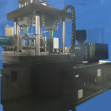 Uma máquina de molde automática do sopro da injeção do copo do vinho vermelho da etapa