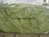 Lastra di pietra naturale del Onyx di verde di alta qualità per le mattonelle della parete/controsoffitti/priorità bassa