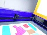 Tagliatrice del laser di velocità veloce con la macchina fotografica di Panomatic per ricamo