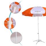 Il riparo dell'ombrello dello schermo della spiaggia di corsa dell'ombrello di spiaggia con trasporta l'ombrello di spiaggia del sacchetto