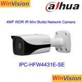 Cámara al aire libre Ipc-Hfw4431e-S del CCTV del IP del Poe 4MP del punto negro de la tarjeta elegante caliente de la venta H. 265 IR SD
