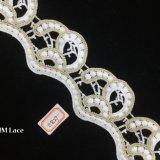 laço da guarnição da nuvem do ouro de 7.5cm para o festival/casamento/partido/aniversário/decoração nupcial Hme827 do chuveiro