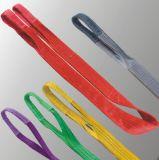 Imbracatura 100% della tessitura del poliestere, imbracatura di sollevamento, En1492-1 ed approvazione di GS