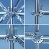Q235 roseta de Aço Galvanizado andaimes para a construção do prédio, fabricante de Shandong