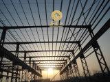 Basso costo di migliore disegno e costruzioni veloci della struttura d'acciaio del gruppo di lavoro/indicatore luminoso del magazzino di Installe /Prefabricated