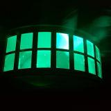 2pcs 10W LED de color de la etapa de la luz de efecto mariposa