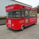 음식은 중국 음식 트레일러 공장에서 이동할 수 있는 음식 트레일러를 나른다