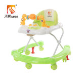 Uの形シャーシを持つ一義的なデザイン7車輪の赤ん坊の歩行者