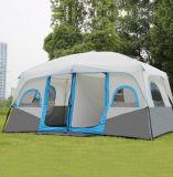 غرف كبيرة قبة خيمة لأنّ 8+ أشخاص أسرة خارجيّة يخيّم