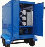 Tipo mobile Closed macchina di depurazione di olio del trasformatore, macchina di pulizia dell'olio residuo