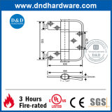 SS304 com dobradiças de porta Dobrável (DDSS Certificação UL041)