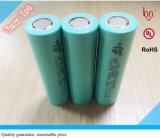 3.7V 2200mAh cilindro 18650 Bateria de Iões de Lítio Recarregável para Consumer Electronics