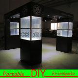 De modulaire Tentoonstelling bevindt zich Vertoning, toont de Handel van de Cabine van de Tentoonstelling de Tribune van de Vertoning